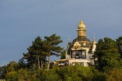 Παλαιό architecutre της χρυσής Πράγας Στοκ Φωτογραφίες