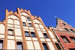 Παλαιό architecutre του Τορούν Στοκ Φωτογραφίες