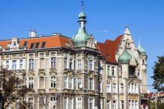 Παλαιό architecutre Szczecin Στοκ φωτογραφία με δικαίωμα ελεύθερης χρήσης
