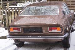Παλαιό Audi 100 Coupe S Στοκ Φωτογραφίες