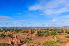 Παλαιό Bagan bagan-Nyaung στο U, το Μιανμάρ Στοκ Εικόνες