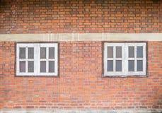Παλαιό brickwall και το παράθυρο Στοκ φωτογραφία με δικαίωμα ελεύθερης χρήσης