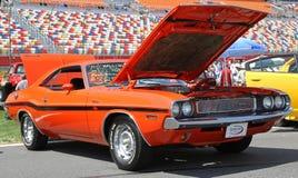 Παλαιό Challenger τεχνάσματος αυτοκίνητο Στοκ φωτογραφίες με δικαίωμα ελεύθερης χρήσης