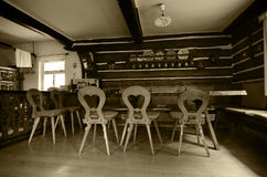 Παλαιό dinning δωμάτιο Στοκ φωτογραφίες με δικαίωμα ελεύθερης χρήσης