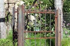 Παλαιό door& x27 πύλη του s Στοκ Εικόνες