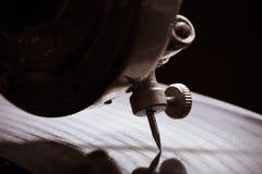 Παλαιό gramophone Κλείστε επάνω την όψη Εκλεκτική εστίαση Ρηχό διαμέρισμα Στοκ φωτογραφίες με δικαίωμα ελεύθερης χρήσης