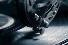 Παλαιό gramophone όψη υψηλής διάλυσης eyedroppers κινηματογραφήσεων σε πρώτο πλάνο πολύ τονισμένος Στοκ εικόνες με δικαίωμα ελεύθερης χρήσης