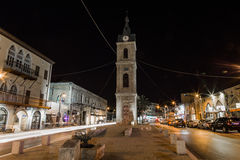 Παλαιό Jaffa τη νύχτα. Τελ Αβίβ. Ισραήλ Στοκ φωτογραφίες με δικαίωμα ελεύθερης χρήσης