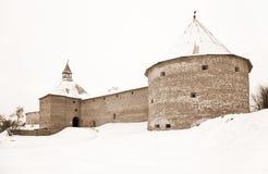 Παλαιό Ladoga φρούριο Στοκ Εικόνες