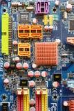 Παλαιό mainboard 775 Στοκ φωτογραφία με δικαίωμα ελεύθερης χρήσης