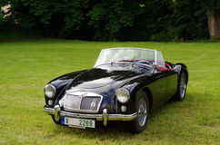 Παλαιό MG αυτοκινήτων Στοκ εικόνα με δικαίωμα ελεύθερης χρήσης