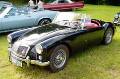 Παλαιό MG αυτοκινήτων Στοκ Φωτογραφία
