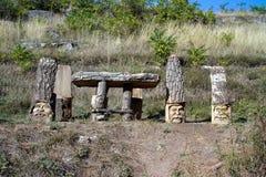 Παλαιό Orhei - ιστορικός και αρχαιολογικός σύνθετος, Στοκ εικόνα με δικαίωμα ελεύθερης χρήσης