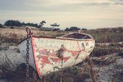 Παλαιό Rowboat Στοκ φωτογραφία με δικαίωμα ελεύθερης χρήσης