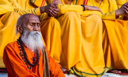 Παλαιό Sadhu στοκ φωτογραφία με δικαίωμα ελεύθερης χρήσης