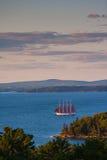 Παλαιό sailboat στο λιμάνι φραγμών Στοκ φωτογραφίες με δικαίωμα ελεύθερης χρήσης