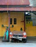 Παλαιό Sportscar σε Penang, Μαλαισία Στοκ φωτογραφία με δικαίωμα ελεύθερης χρήσης