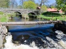 παλαιό stonebridge Στοκ Εικόνες