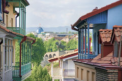 παλαιό Tbilisi Στοκ Εικόνες