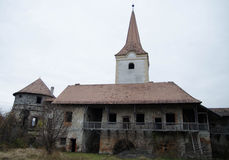 Παλαιό Transilvanian Castle - ο πύργος Στοκ Φωτογραφίες