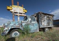 παλαιό truck παράδοσης Στοκ φωτογραφία με δικαίωμα ελεύθερης χρήσης