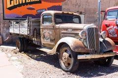 παλαιό truck παράδοσης Στοκ Φωτογραφίες