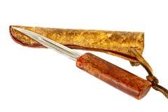Παλαιό yakutian μαχαίρι κυνηγιού Στοκ φωτογραφίες με δικαίωμα ελεύθερης χρήσης