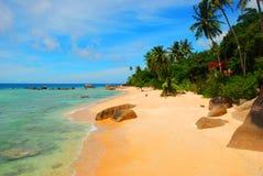 Παλιή παραλία στη Μαλαισία Στοκ Εικόνα