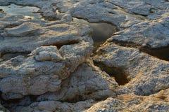 Παλιρροιακές λίμνες και παγετώδεις βράχοι Στοκ εικόνα με δικαίωμα ελεύθερης χρήσης