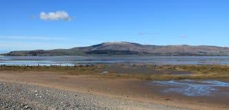 Παλιρροιακή εκβολή Αγγλία Cumbria Στοκ εικόνα με δικαίωμα ελεύθερης χρήσης