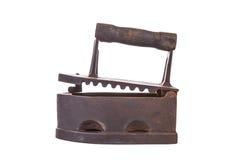 Παλιός ξυλάνθρακας-τροφοδοτημένος σίδηρος στοκ φωτογραφία με δικαίωμα ελεύθερης χρήσης