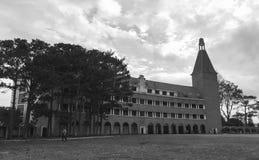 Παλιό σχολείο κεντρικός σε Dalat, Βιετνάμ Στοκ Εικόνα