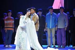 Παλτό αγκαλιάζω στοργικά-Jiangxi OperaBlue Στοκ εικόνα με δικαίωμα ελεύθερης χρήσης