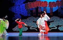 Παλτό μέσω-Jiangxi OperaBlue ονείρων Στοκ φωτογραφία με δικαίωμα ελεύθερης χρήσης