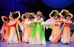 Παλτό χορός-Jiangxi OperaBlue νεράιδων Στοκ Εικόνες