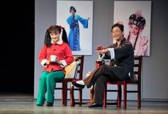 Παλτό ψιλοκουβέντα-Jiangxi OperaBlue Στοκ φωτογραφία με δικαίωμα ελεύθερης χρήσης