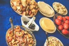 Πείνα κρέατος γιορτής γευμάτων Gala φίνη Στοκ Φωτογραφία