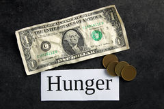 πείνα στοκ φωτογραφία