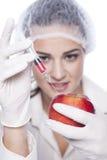 Πείραμα ΓΤΟ Στοκ εικόνες με δικαίωμα ελεύθερης χρήσης