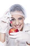 Πείραμα ΓΤΟ Στοκ Εικόνες