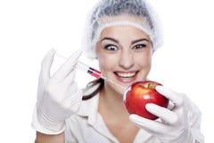 Πείραμα ΓΤΟ Στοκ εικόνα με δικαίωμα ελεύθερης χρήσης