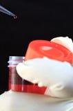 πείραμα χημείας στοκ εικόνες
