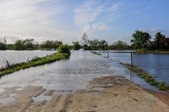 πεδία που πλημμυρίζουν στοκ φωτογραφίες με δικαίωμα ελεύθερης χρήσης