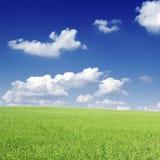 πεδία σύννεφων Στοκ Εικόνες
