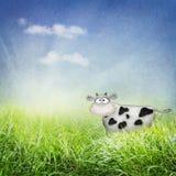 πεδίο αγελάδων ελεύθερη απεικόνιση δικαιώματος