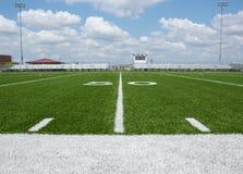 Πεδίο αμερικανικού ποδοσφαίρου στοκ εικόνα