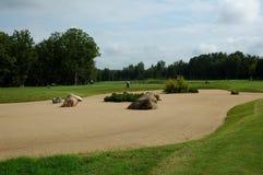 Πεδίο γκολφ στοκ εικόνα με δικαίωμα ελεύθερης χρήσης