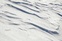πεδίο ερήμων χιονώδες Στοκ φωτογραφία με δικαίωμα ελεύθερης χρήσης