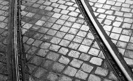 Πεζοδρόμιο οδών της Λισσαβώνας Στοκ Φωτογραφία