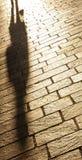 πεζοδρόμιο σκιών Στοκ Φωτογραφία